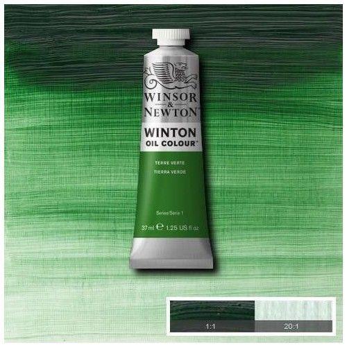 Oleo Winsor & Newton tierra verde