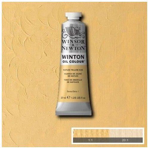 Oleo Winsor & Newton amarillo de Nápoles