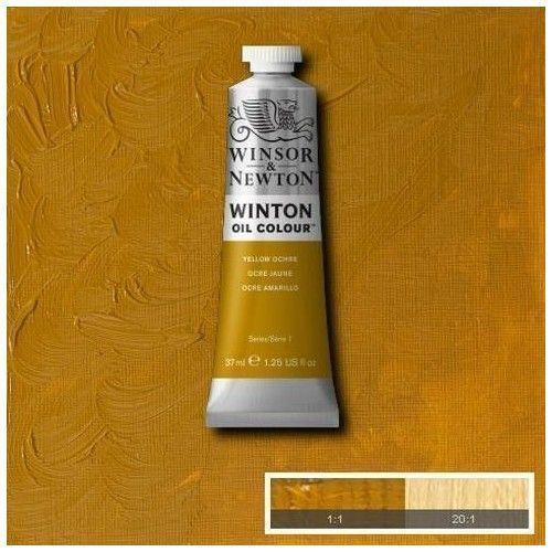 Oleo Winsor & Newton ocre amarillo