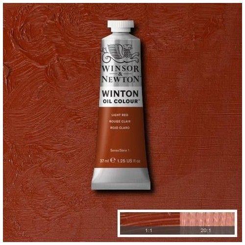 Oleo Winsor & Newton rojo indio