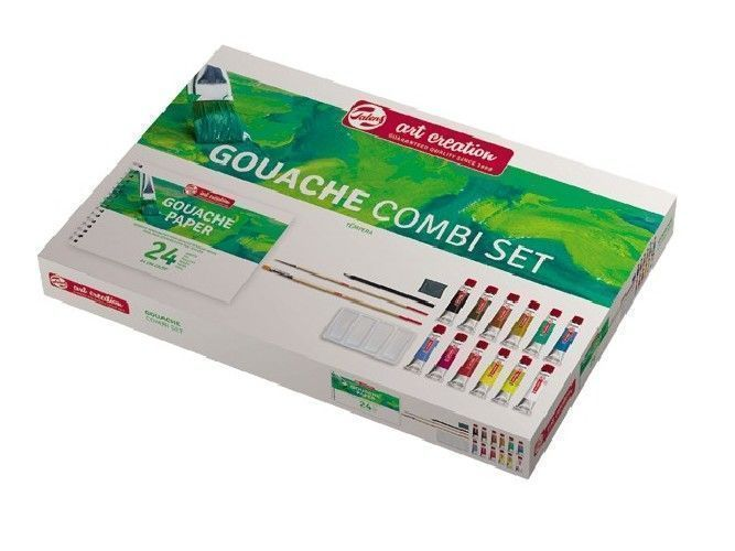Gouache Talens Art Creation Set
