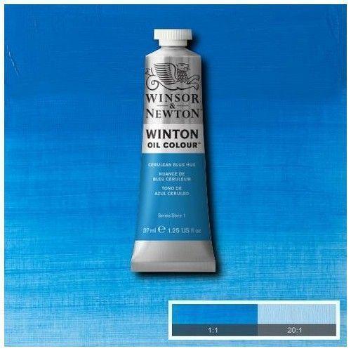 Oleo Winsor & Newton Azul ceruleo
