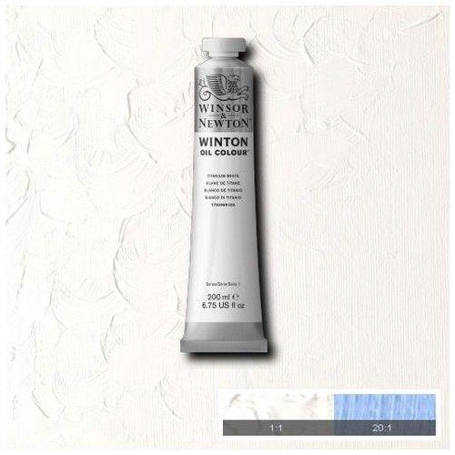 Oleo Winsor & Newton 200ml Blanco titanio