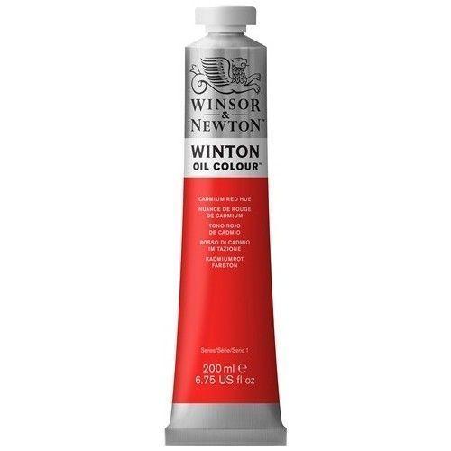 Oleo Winsor & Newton 200ml Rojo de cadmio