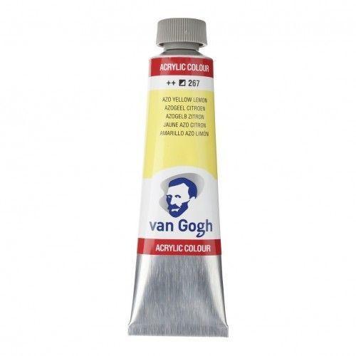 Acrílico Van Gogh Blanco titanio