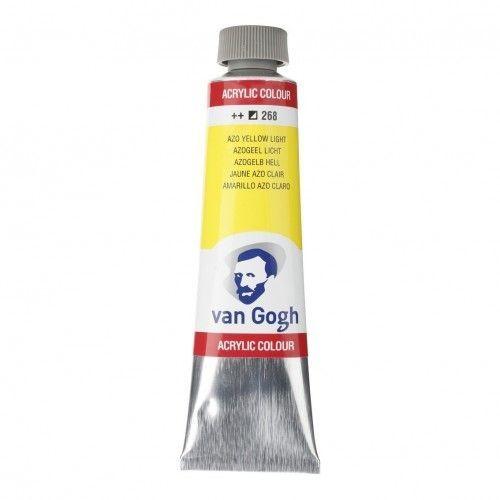 Acrílico Van Gogh Amarillo azo. claro