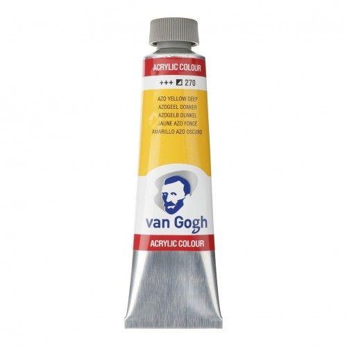 Acrílico Van Gogh Amarillo azo oscuro
