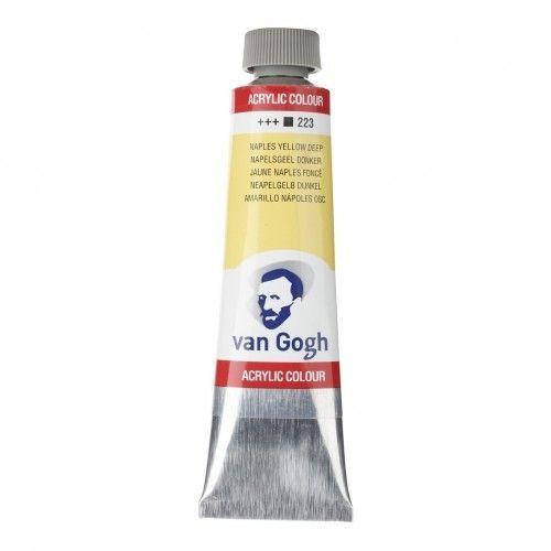 Acrílico Van Gogh AMARILLO NAPOLES OSURO
