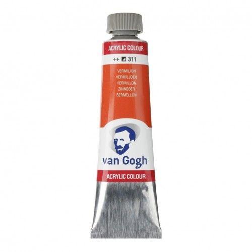 Acrílico Van Gogh BERMELLON