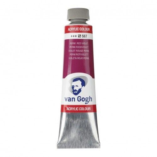 Acrílico Van Gogh Violeta rojizo perm.