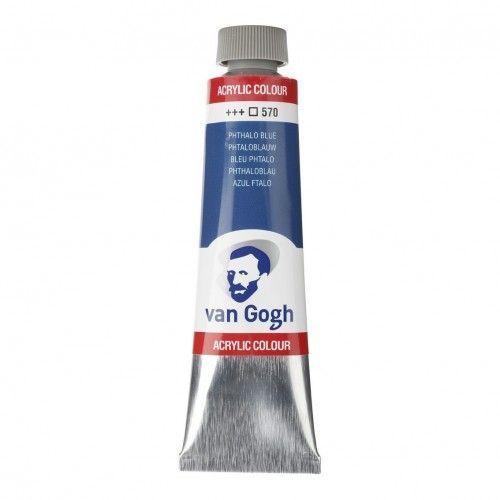 Acrílico Van Gogh Azul ftalo