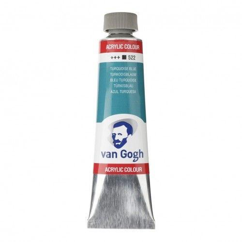 Acrílico Van Gogh Azul turquesa