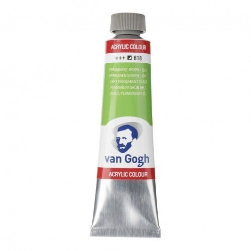 Acrílico Van Gogh Verde perm. Cl.
