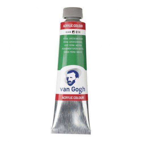 Acrílico Van Gogh Verde perm. M..