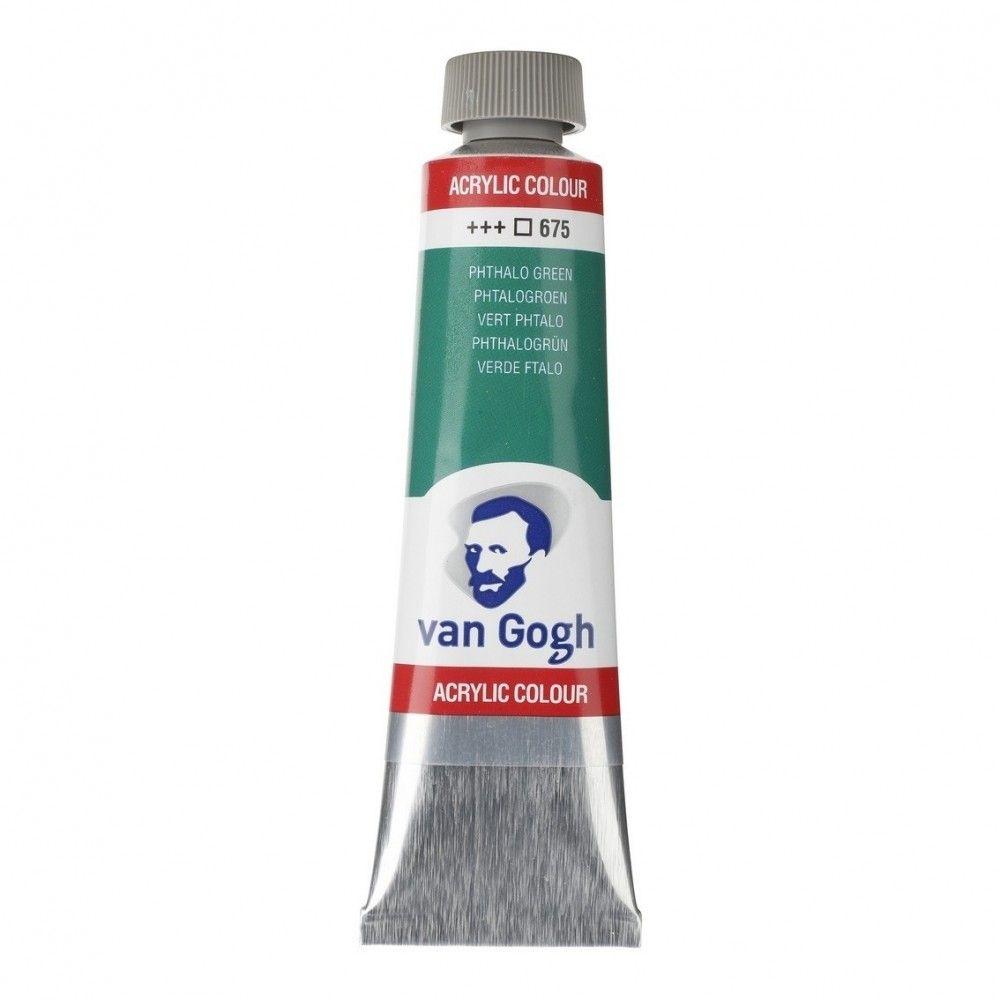 Acrílico Van Gogh Verde ftalo