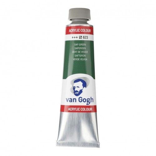 Acrílico Van Gogh Verde vejiga