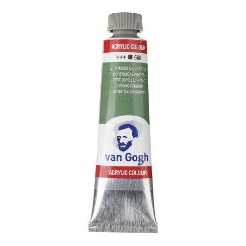 Acrílico Van Gogh Verde óxido cromo