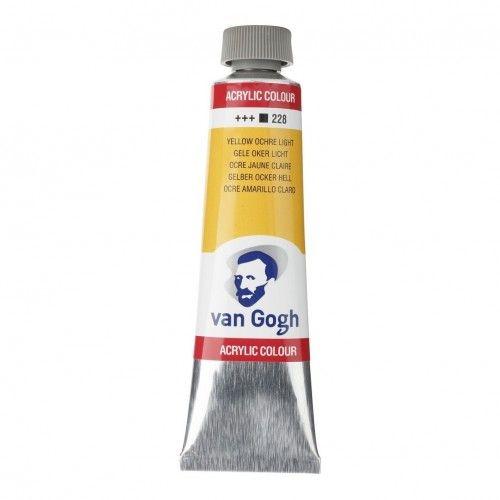 Acrílico Van Gogh Ocre amarillo Cl.