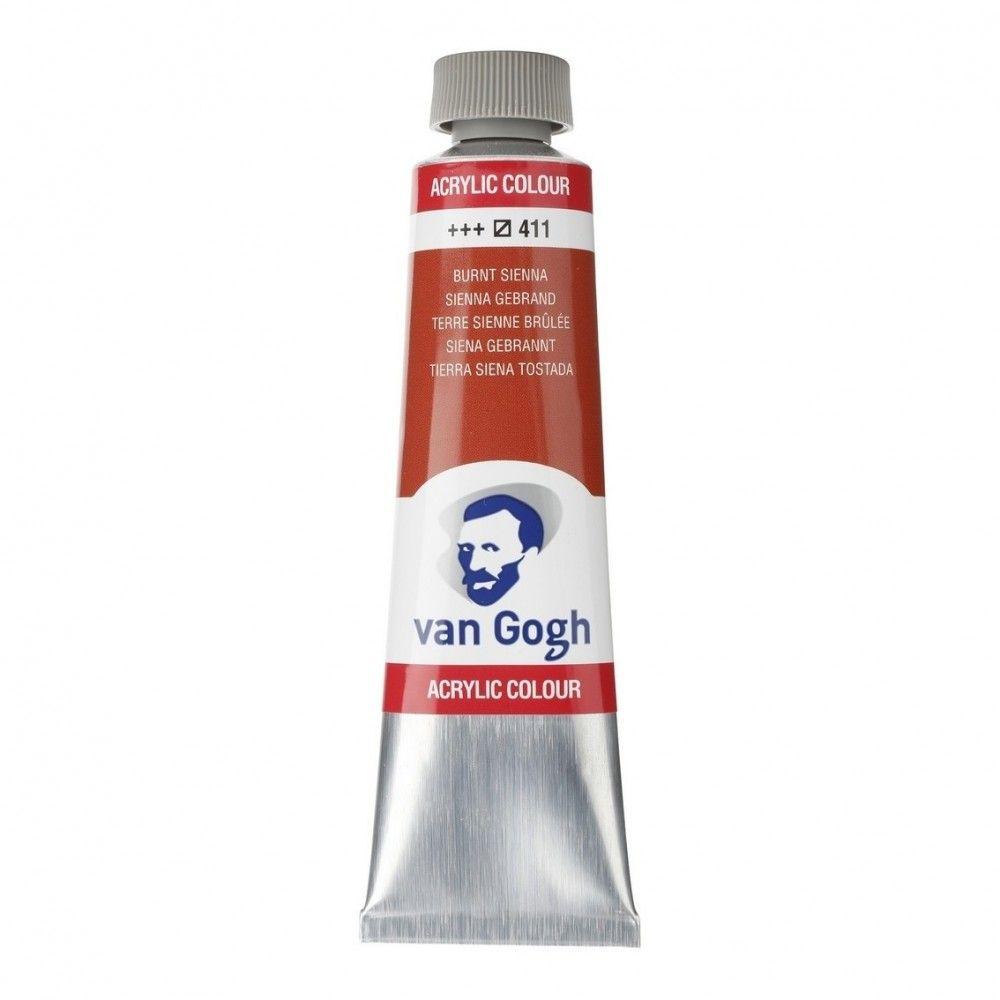 Acrílico Van Gogh Tierra Siena tost.