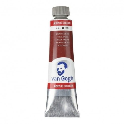 Acrílico Van Gogh Rojo inglés