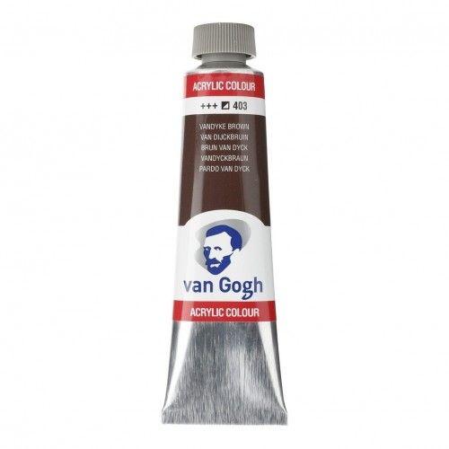 Acrílico Van Gogh Pardo Van Dyck