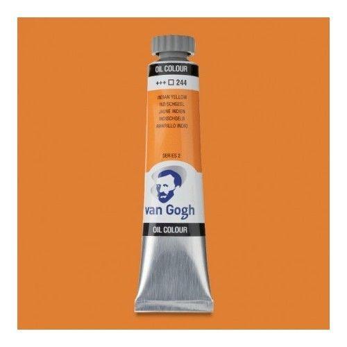 Oleo Van Gogh Amarillo indio