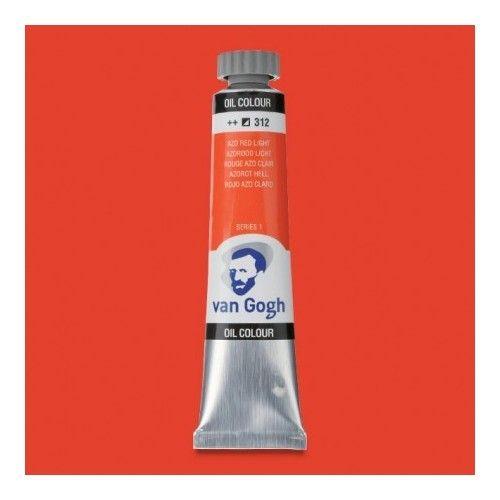 Oleo Van Gogh Rojo azo C