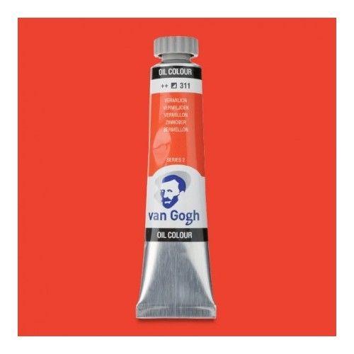 Oleo Van Gogh Bermellón