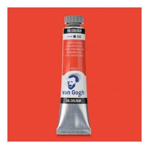 Oleo Van Gogh Rojo cadmio C