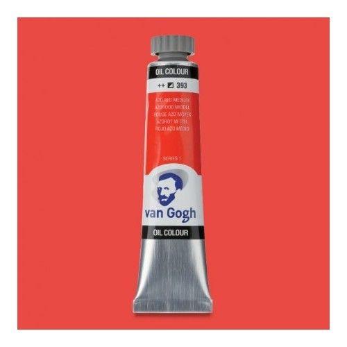 Oleo Van Gogh Rojo azo M