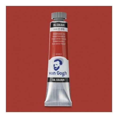 Oleo Van Gogh Rojo óxido transp