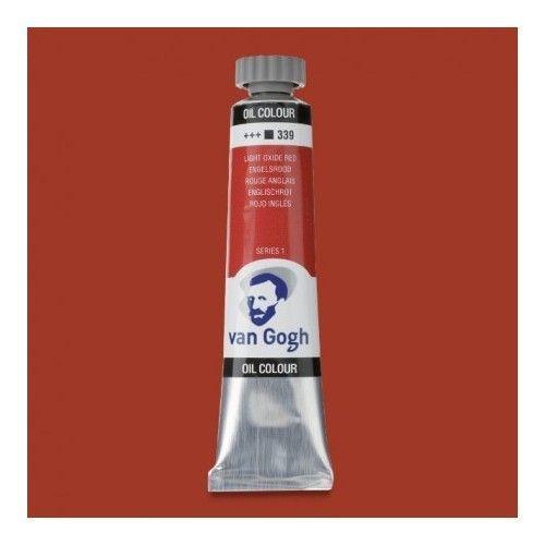 Oleo Van Gogh Rojo inglés
