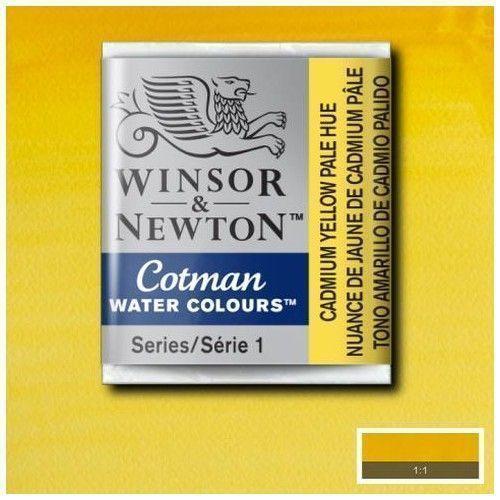 Acuarela en pastilla W&N pálido amarillo cadmio