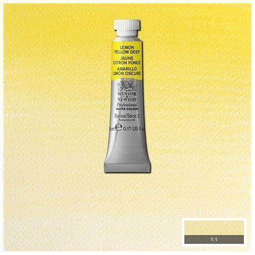 Acuarela Profesional W&N Amarillo Limón Oscuro