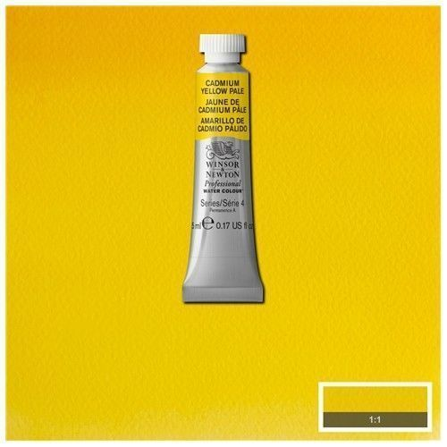 Acuarela Profesional W&N amarillo de cadmio pálido