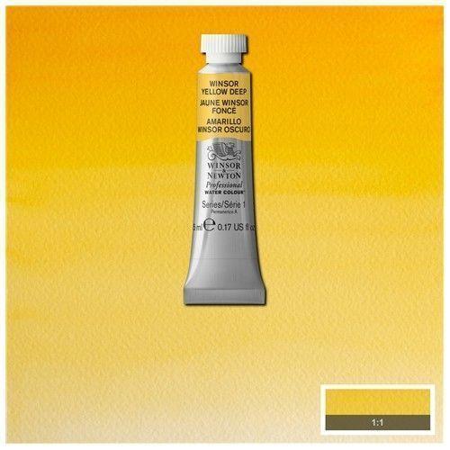 Acuarela Profesional W&N amarillo winsor oscuro