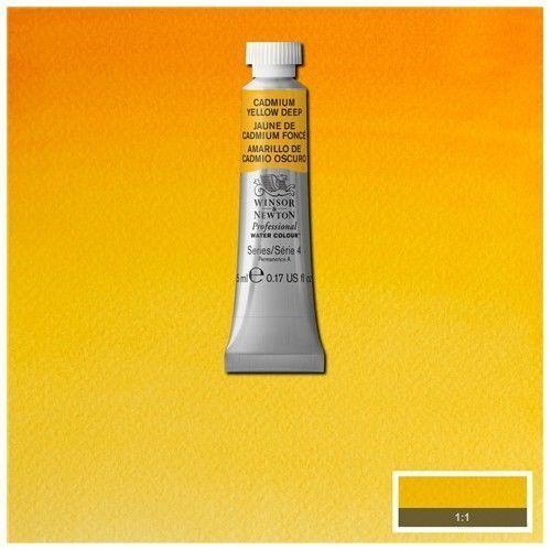 Acuarela Profesional W&N Amarillo de cadmio Oscuro