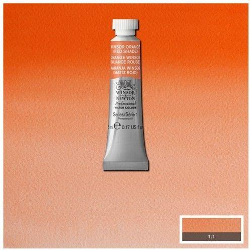 Acuarela Profesional W&N naranja winsor (Matiz rojo)