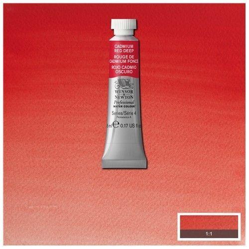 Acuarela Profesional W&N rojo de cadmio oscuro