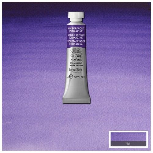 Acuarela Profesional W&N violeta Winsor dioxacina