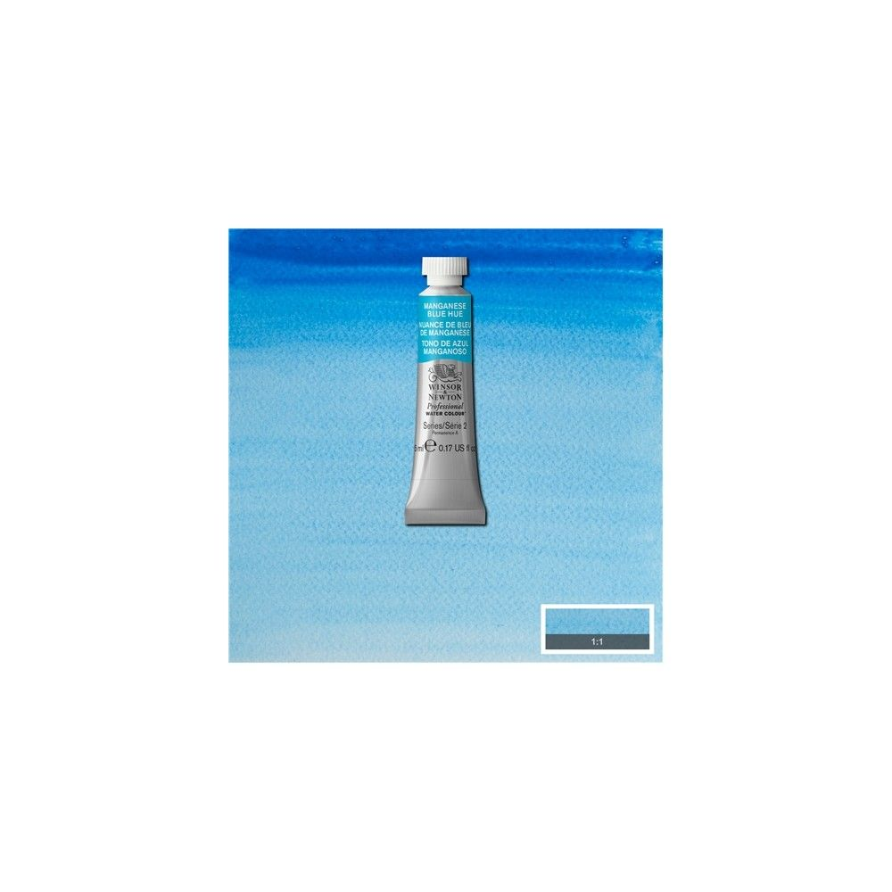 Acuarela Profesional W&N Tono azul manganeso