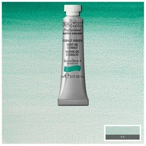 Acuarela Profesional W&N Verde cobalto