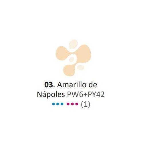 Acrílico Eterna Profesional 700ml Amarillo de Napolés