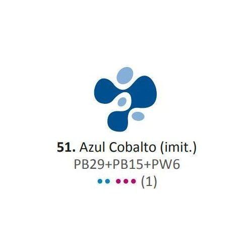 Acrílico Eterna Profesional 700ml Azul Cobalto