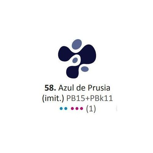 Acrílico Eterna Profesional 700ml Azul de Prusia