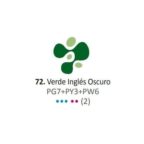 Acrílico Eterna Profesional 700ml Verde Inglés Oscuro