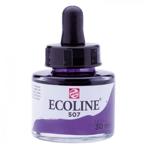 Ecoline Azul ultramar violeta 30ml