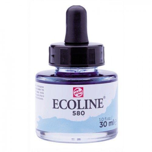 580 Ecoline Azul pastel 30ml
