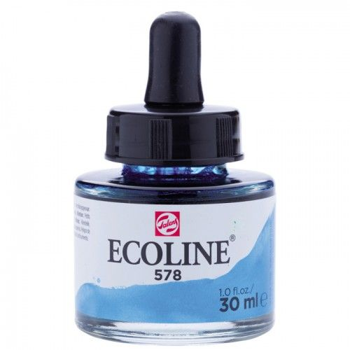 Ecoline Azul celeste (cian) 30ml