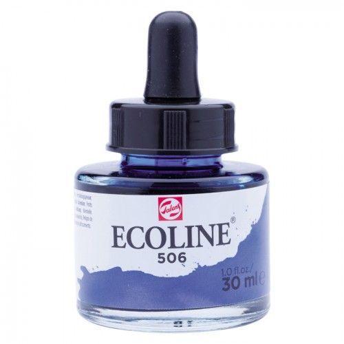 Ecoline Azul ultramar oscuro 30ml